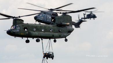 Photo of Helikopters luchtmacht nog 2 weken laag over Nederland
