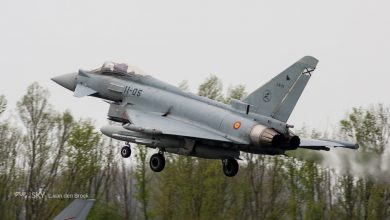 Photo of NAVO-Eurofighter vuurt per ongeluk raket boven Estland af