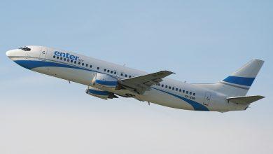 Photo of Boeing 737 maakt hobbelige doorstart in Salzburg – video