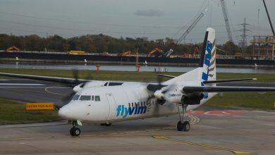 Photo of 'Laatste Fokker van VLM vliegt naar Zweden'