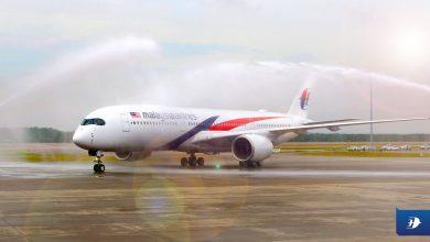 Photo of Malaysia neemt eerste A350 in ontvangst – foto's