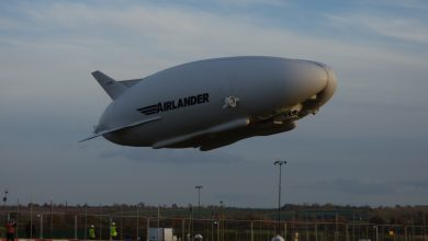 Photo of Airlander breekt in tweeën