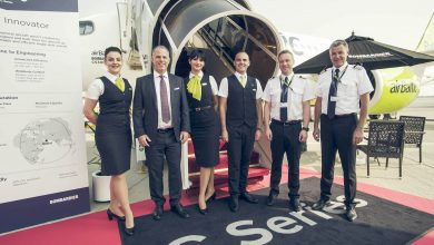 Photo of AirBaltic toont nieuwe CS300 op Dubai Airshow