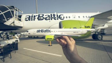 Photo of Kwart meer passagiers voor airBaltic in oktober 2017