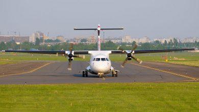 Photo of ATR 72 raakt van de baan tijdens onweersbui