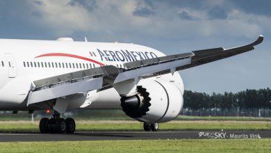 Photo of Aeromexico nog maar één keer per week naar Schiphol