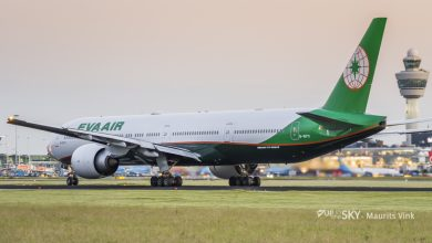 Photo of Staking EVA Air voorbij