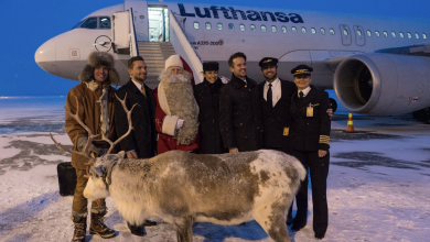 Photo of Lufthansa start lijndienst naar de Kerstman