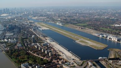 Photo of Uitbreiding London City Airport van de baan