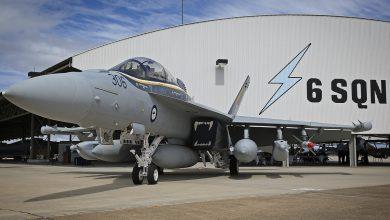 Photo of Australische Super Hornet zwaar beschadigd tijdens start