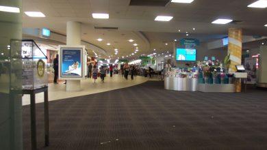 Photo of Newcastle Airport gesloten door bosbrand