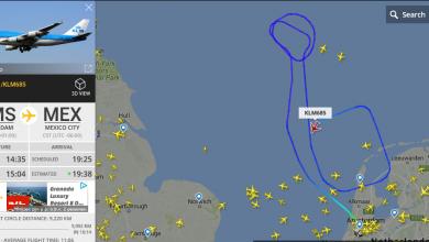 Photo of KLM-vlucht keert terug naar Schiphol