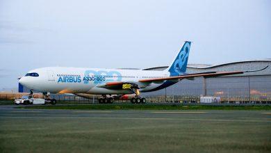 Photo of Nieuwe A330 staat er gekleurd op