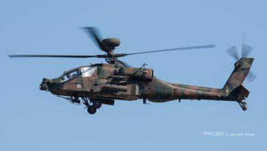 Photo of Japanse AH-64 Apache stort neer op woonhuis