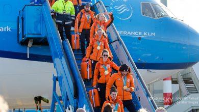 Photo of F-16's vergezellen Olympische sporters – Foto en video