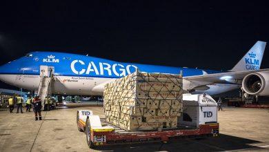 Photo of KLM-747 in Zimbabwe over enkele dagen terug op Schiphol
