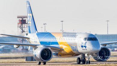 Photo of Embraer E190-E2 vliegt nonstop van Brazilië naar Zwitserland