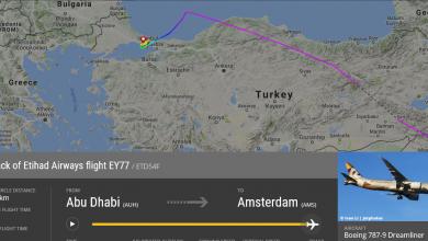 Photo of Etihad vlucht naar Amsterdam maakt tussenlanding