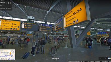 """Photo of Met Google een rondje """"lopen"""" in Eindhoven Airport"""