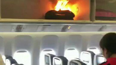 Photo of Powerbank vat vlam in China Southern Boeing 777 – video