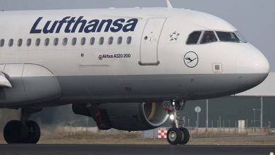 "Photo of ""3200 banen op de tocht bij Lufthansa"""