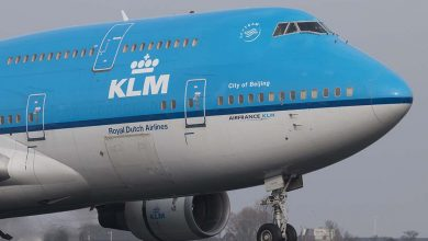 Photo of KLM met Boeing 747 naar Las Vegas