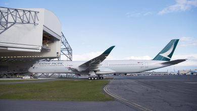 Photo of Cathay Pacific met A350-1000 naar Schiphol