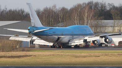 Photo of Oud cabine-interieur KLM in de verkoop