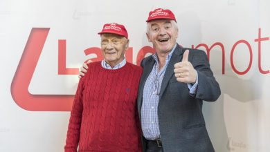 Photo of Ruzie Ryanair en Lufthansa over Laudamotion van de baan