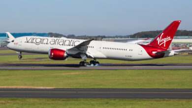 Photo of Barbie aan de slag bij Virgin Atlantic