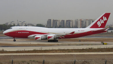 Photo of Video: 747 Supertanker bestrijdt bosbranden