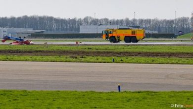 De gecrashte Cessna 172 op Lelystad Airport - ©FotoCreatives