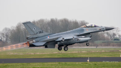 Photo of Nederlandse luchtmacht weer verantwoordelijk voor beveiliging luchtruim