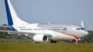 Photo of Nieuw regeringsvliegtuig in vol ornaat op Woensdrecht