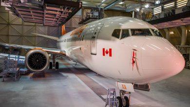 De eerste Boeing 737 MAX 8 voor Sunwing - ©Sunwing Airlines