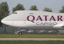 Photo of Boeing 747 blokkeert landingsbaan Doha