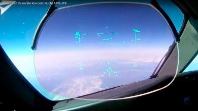 Photo of Aan boord bij de eerste low-costvlucht AMS-JFK | Video