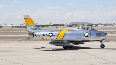 Photo of Heritage Flight demonstratie F-86F | foto's