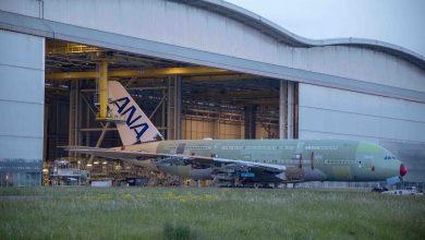 Photo of Eerste A380 voor ANA rolt uit de fabriek