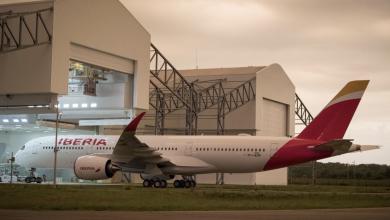 Photo of Iberia neemt in Toulouse eerste A350-900 in ontvangst