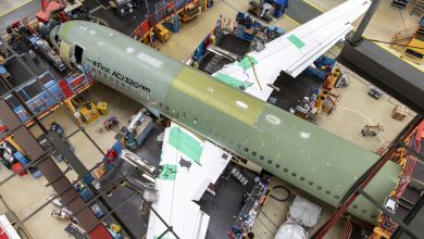 Photo of Airbus ACJ320neo businessjet klaar voor assemblage