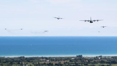 Photo of Parachutistenlandingen in Normandië 74 jaar na D-Day