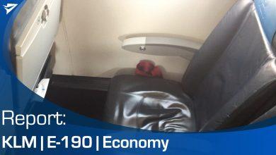 Photo of Flight Report: KLM E-190 | Video