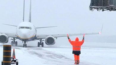 Photo of Europees vliegverkeer gebukt onder winterweer