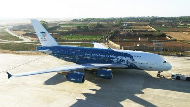 Photo of A380 van Hi Fly vliegt nu voor Air Austral