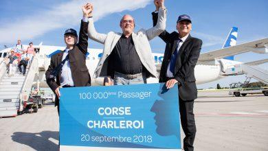 Photo of Air Corsica's 100.000e reiziger verrast op Charleroi