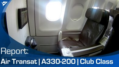Photo of Flight Report: Air Transat A330 Club Class | Video