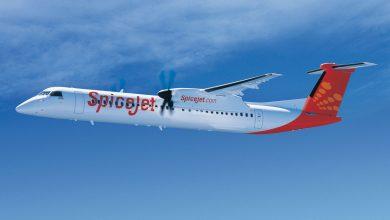 Photo of Eerste grotere Q400 aan Indiase airline geleverd