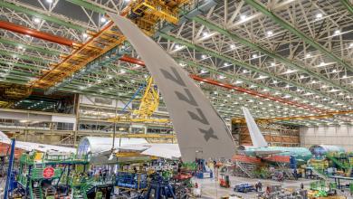 Photo of Boeing 777X voor het eerst in actie op de startbaan