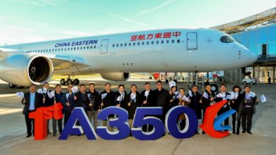 Photo of China Eastern Airlines neemt eerste A350-900 in ontvangst